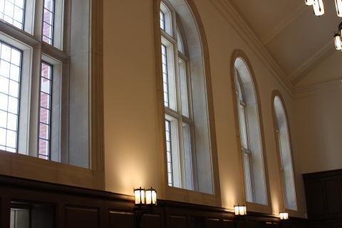 Dining Hall Windows
